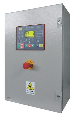 Quadri Automatici Gruppi Elettrogeni Industriali